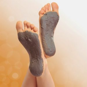 Ghassoul pakking foot wellness